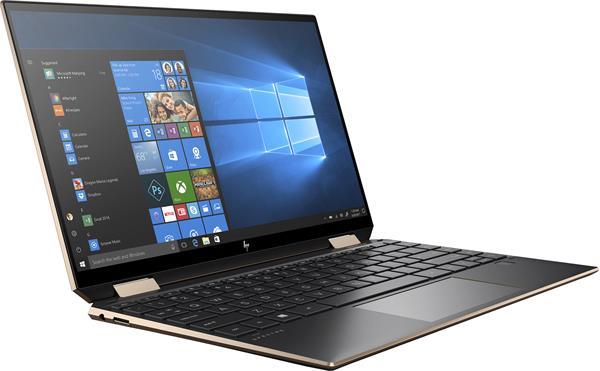 HP Spectre x360 13-aw0111nc, i7-1065G7, 13.3 FHD/Touch, Iris Plus, 16GB, SSD 1TB + 32GB, W10, 2-2-2, WWAN/Black