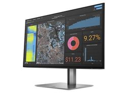 HP Z24f G3 FHD Display, 23.8 IPS, 1920x1080, 1000:1, 5ms, 300cd, HDMI/DP, 3-3-0, pivot