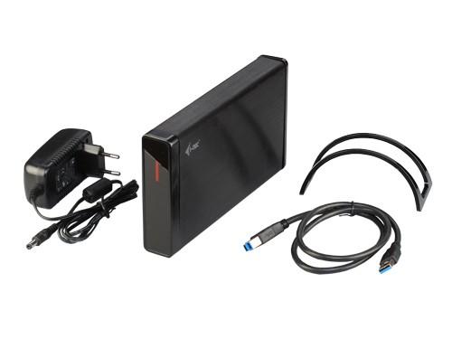 "i-tec MYSAFE Advanced 3,5"" USB 3.0 Aluminium External Case"