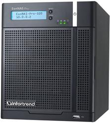 Infortrend,EonNAS Pro 500,5-bay NAS Storage, 2 x GbE, 4GB,RAID 0,1,5, 6,10, VMware®, Citrix®