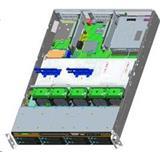 Intel®Server R2208WT2YSR Rack 2U, 2xE5-2600V3/V4, 24xDDR4 RDIMM, 8x2.5'' HDD HotSwap, 8xSATA ports, 2x1Gb LAN, 1+0 1100W