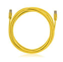 KELine Patch kábel Cat6A, STP, LSOH, 3m, žltý