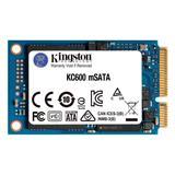 """Kingston 256GB SSD KC600 mSATA, 2.5"""" ( r550 MB/s, w500 MB/s ))"""