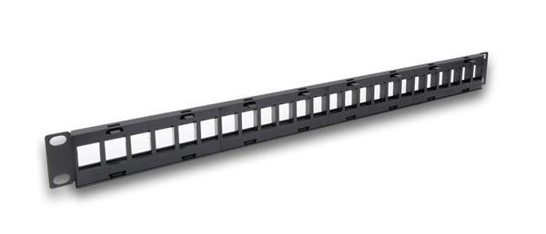 Legrand LINKEO modulárny patchpanel 24port 1U pre UTP keystone, bez vyväzovania