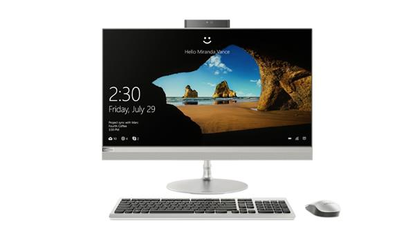 """Lenovo IC 520-27 AIO i5-8400T 3.3GHz 27.0"""" QHD matny AMD RX550/4GB 8GB 1TB+16GB SSD DVDRW W10 strieborny 2yMI"""