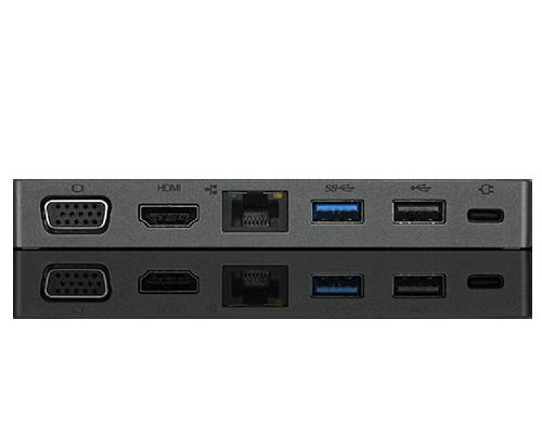 Lenovo Powered USB-C Travel Hub (HDMI, VGA, USB, RJ45)