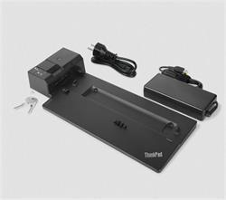 Lenovo ThinkPad Ultra Side Dock-135W (VGA, 2x DisplayPort, HDMI, RJ45, 2xUSB-C, 4xUSB 3.1, adapter) pripojit max. 3x LCD