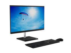 """Lenovo V50a-24 AIO i3-10100T 23.8"""" FHD matny UMA 8GB 256GB SSD DVD W10Pro cierny 1yOS"""