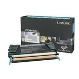 Lexmark C736, X736, X738 Black High Yield Return Program Toner Cartridge, 12K