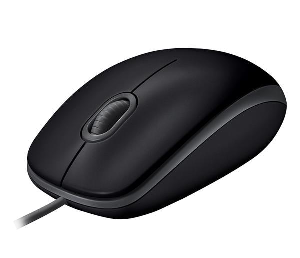 Logitech® B110 Silent - BLACK - USB