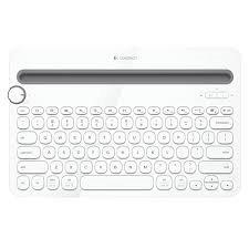 Logitech® Bluetooth® Multi-Device Keyboard K480 - WHITE - US INT'L - BT - INTNL