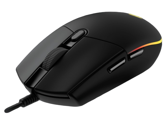 Logitech® G203 2nd Gen LIGHTSYNC Gaming Mouse - BLACK - USB - N/A - EMEA