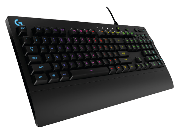 Logitech® G213 Prodigy Gaming Keyboard - US INT'L - USB - INTNL
