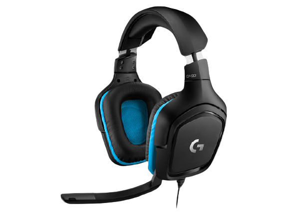 Logitech® G432 Gaming Headset Leatherette