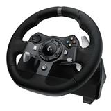 Logitech® G920 STEERING WHEEL, STARLIGHT,IN-HOUSE/EMS,NO LANG,EMEA,RETAIL,USB,W-U0004,EU