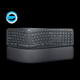 Logitech® K860 ERGO Wireless keyboard, US INTL, GRAPHITE