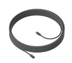 Logitech® MEETUP Mic Extension Cable - GRAPHITE