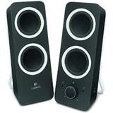 Logitech® z200 Multimedia Speakers - MIDNIGHT BLACK - 3.5 MM - EU