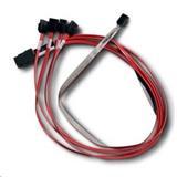 LSIinternal mini SAS SFF8087 to 4x SATA cable 1m