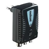 Meliconi AMP-20 Indoor aerial signal amplifier. Amplifies analogue and digital TV signals over 10 times (adjustable 20 d