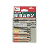 Metabo Sada pílových plátkov 3 Drevo+Kov+Umelé hmoty 10-dielna