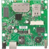 MIKROTIK RouterBOARD 912UAG-5HPnD + L4 (600MHz, 64MB RAM, 1x LAN,1x5GHz 802.11an card, 2xMMCX, 3G)