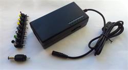 Napájací univerzálny adaptér 96W, AC 110-240V, DC 12-24V, manual