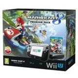 Nintendo konzola WiiU Premium Pack Black + Mario Kart 8