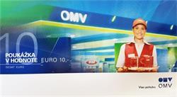 OMV 10 EUR - darčeková poukážka