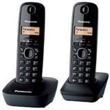 Panasonic KX-TG1612FXH telefon bezsnurovy DECT / sivy 2x