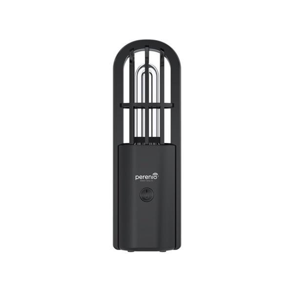 Perenio germicídna lampa UV Mini Indigo, prenosná, UV žiarenie, tvorba ozónu, rádius do 9m2, čierna