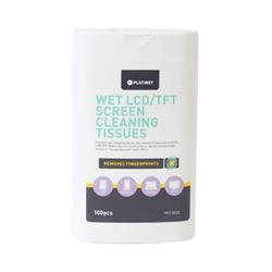 Platinet - čistiace navlhčené utierky na LCT, TFT - 100 ks