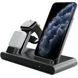 Prestigio REVOLT A1 bezdrôtová nabíjačka pre 3 zariadenia (AirPods,Apple Watch, akykolvek Smartphone)