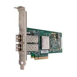 QLogic 2562 Dual Port 8Gb Optical Fibre Channel HBAFull HeightCusKit
