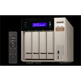 QNAP™ TVS-473-8G 4bay 8GB 4LAN 10G-ready, AMD® 2.1GHz quad-core