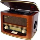 ROADSTAR ROADSTAR STYLE WOODEN HOME RADIO WITH TOP LOADING CD-MP3 PLAYER, Poskodena krabica
