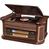 ROADSTAR ROADSTAR WOODEN WOODEN HI-FI SYS WITH DAB/DAB+ RADIO, B.TOOTH,