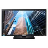 "Samsung S24E650XW 24"" PLS LED 1920x1200 Mega DCR 4ms 250cd HDMI DP DVI PIVOT repro cierny"