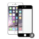 ScreenShield Apple iPhone 7 Plus Tempered Glass protection display (full COVER BLACK metalic frame) - čierny