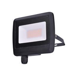 Solight LED reflektor Easy, 30W, 2400lm, 4000K, IP65, čierny