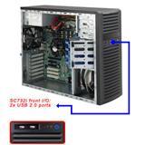 Supermicro® CSE-732i-500B Tower WhisperQuite