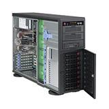 Supermicro® CSE-743TQ-865B Tower/4U chassis 8x hs SuperQuiet