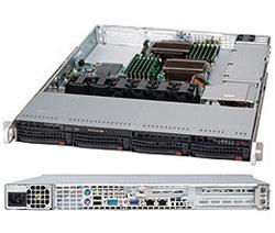 Supermicro® CSE815TQ-600WB 1U chassis