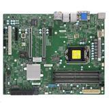 Supermicro MB 1xLGA1151 (Xeon E-2xxx,i3), C246,4xDDR4,8xSATA3,2xM.2,4xPCIe3.0 (x16/8/4/1),HDMI,DP,DVI,Audio,2x LAN,IPMI