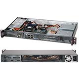 Supermicro® SC505-203B 1U chassis mini fron IO panel