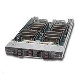 "Supermicro TwinBlade-10Module SBI-7228R-T2X 4x Xeon E5-26xx,v3 4 x 2.5"" HDD"