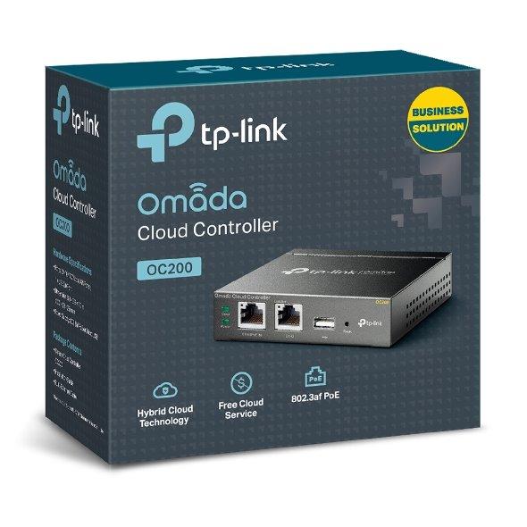 TP-LINK OC200 Omada Cloud Controller, Centralized Management for Omada EAPs, Marvell, 2 Fast Ethernet Port