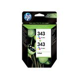 TWO PACK Colour Cartr. DJ5740/6540 7ml. #343