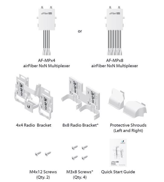 Ubiquiti AirFiber Multiplexer 4x4