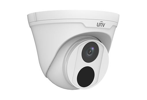 UNIVIEW IP kamera 2592x1520 (4 Mpix), až 20 sn/s, H.265, obj. 2,8 mm (104,4°), PoE, IR 30m , IR-cut, ROI, 3DNR